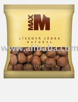 Natural hazelnuts - 100g
