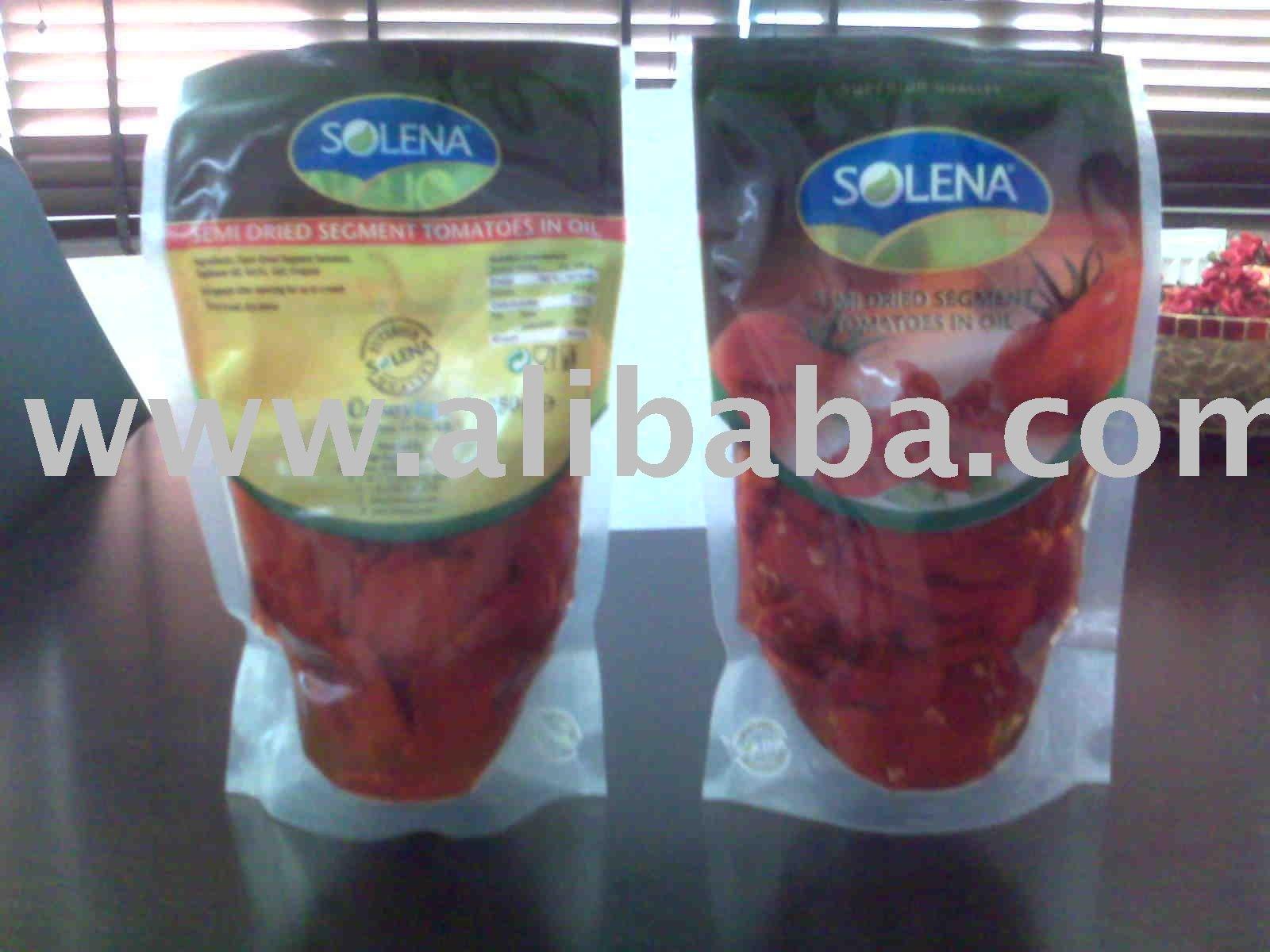 IQF Oven Semi Dried Segment-Cherry Tomatoes-Marinated Oven Semi Dried Tomatoes In Oil-Sun Dried Toma