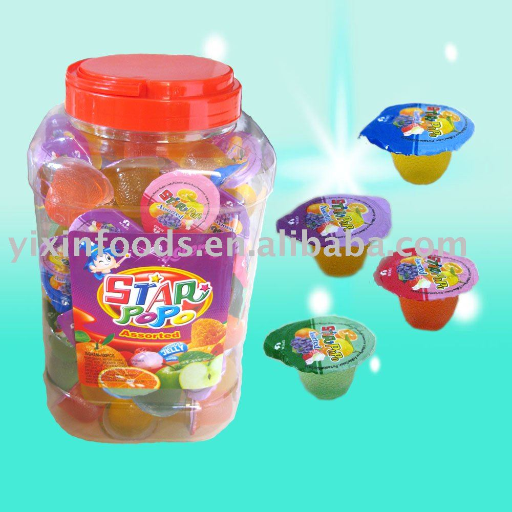 Fruit Jello Cups Litchi Cup Mix Fruit Jelly