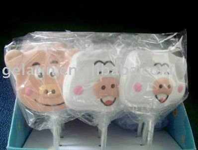 Pig Marshmallow Candy Sweet