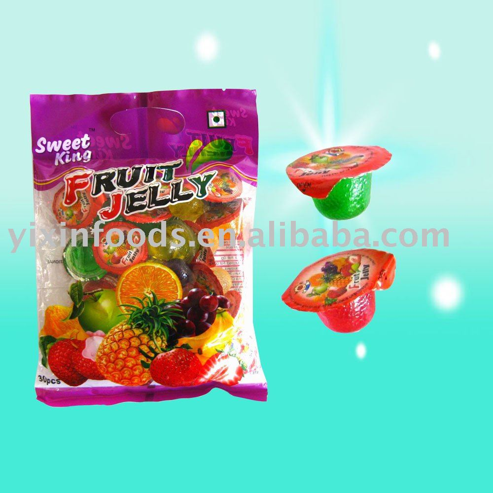 Fruit Jelly Cups Recipe Fruit Cup Jelly
