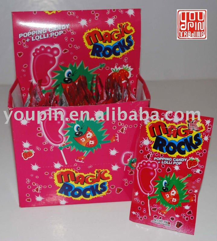 Magic Rocks (Popping Candy with Lollipop)