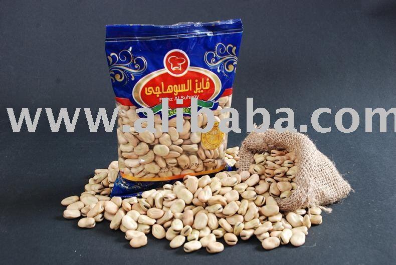 Splitted faba beans