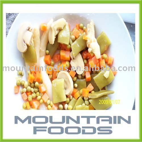 Canned Vegetable / Mixed Vegetable