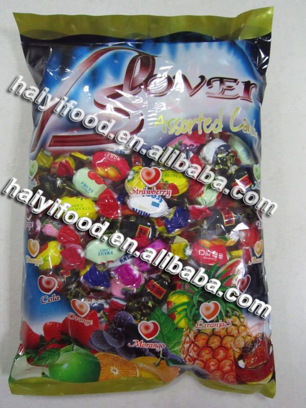 Double Flavour Fruit Hard Candy