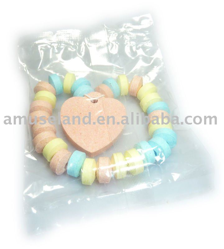 Heart Shape Dextrose pressed candy, 15g, Individually Packed