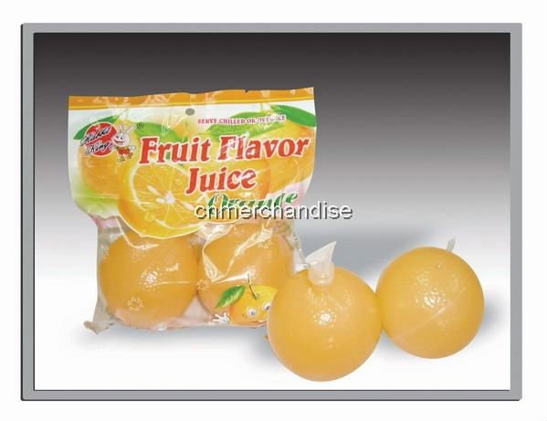 wholesale supply  fruit flavor juice jelly-fruit juice drink-orange
