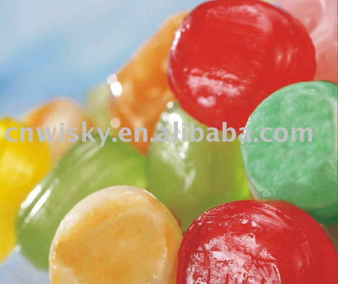 fruit flavoured hard candy