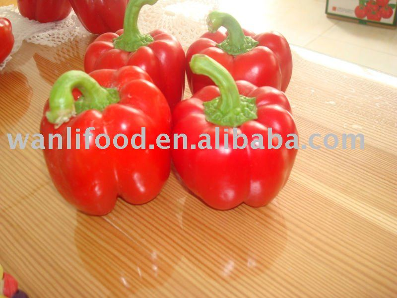 fresh small sweet pepper