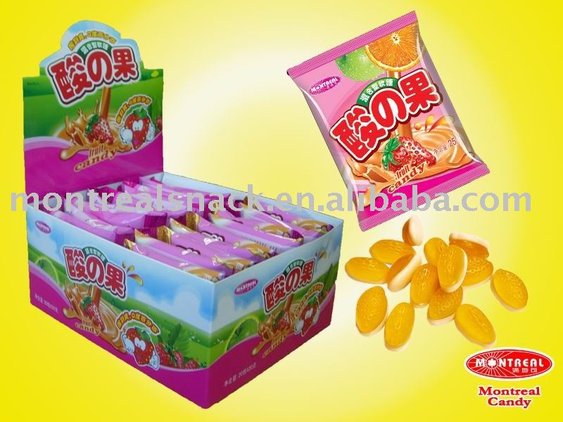 fruit candy chewing gum