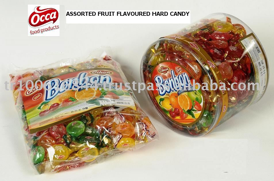 BON-BON - FRUIT  FLAVOURED HARD CANDY
