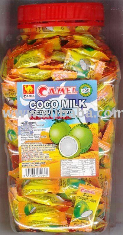300PCS CAMEL COCONUT CANDY