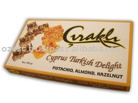 Pistachio, Almond, Hazelnut-Cyprus Turkish Delight 450gr products ...