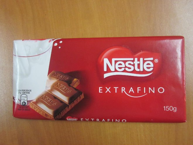 Milk Chocolate Extrafino product of Nestle