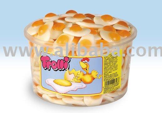 Gummy Candy Fried Eggs