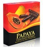 Chocolate-  Papaya Chocolate Delight