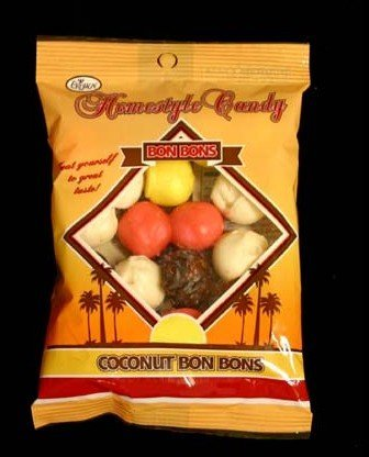 candy:   Coconut Bon Bons |