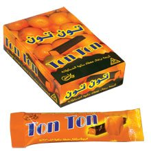 ORANGE CREAM COATED CHOCOLATE FLAVOURED