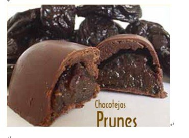 Chocotejas of Prunes
