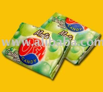 Chicle OPEN CANDY (Menta) - opencandy