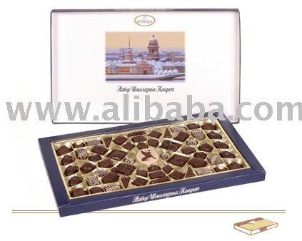 Hand Made Boxed Chocolate And Chocolate Candy