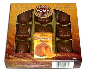 Caramel Filled Pure Belgian Chocolates