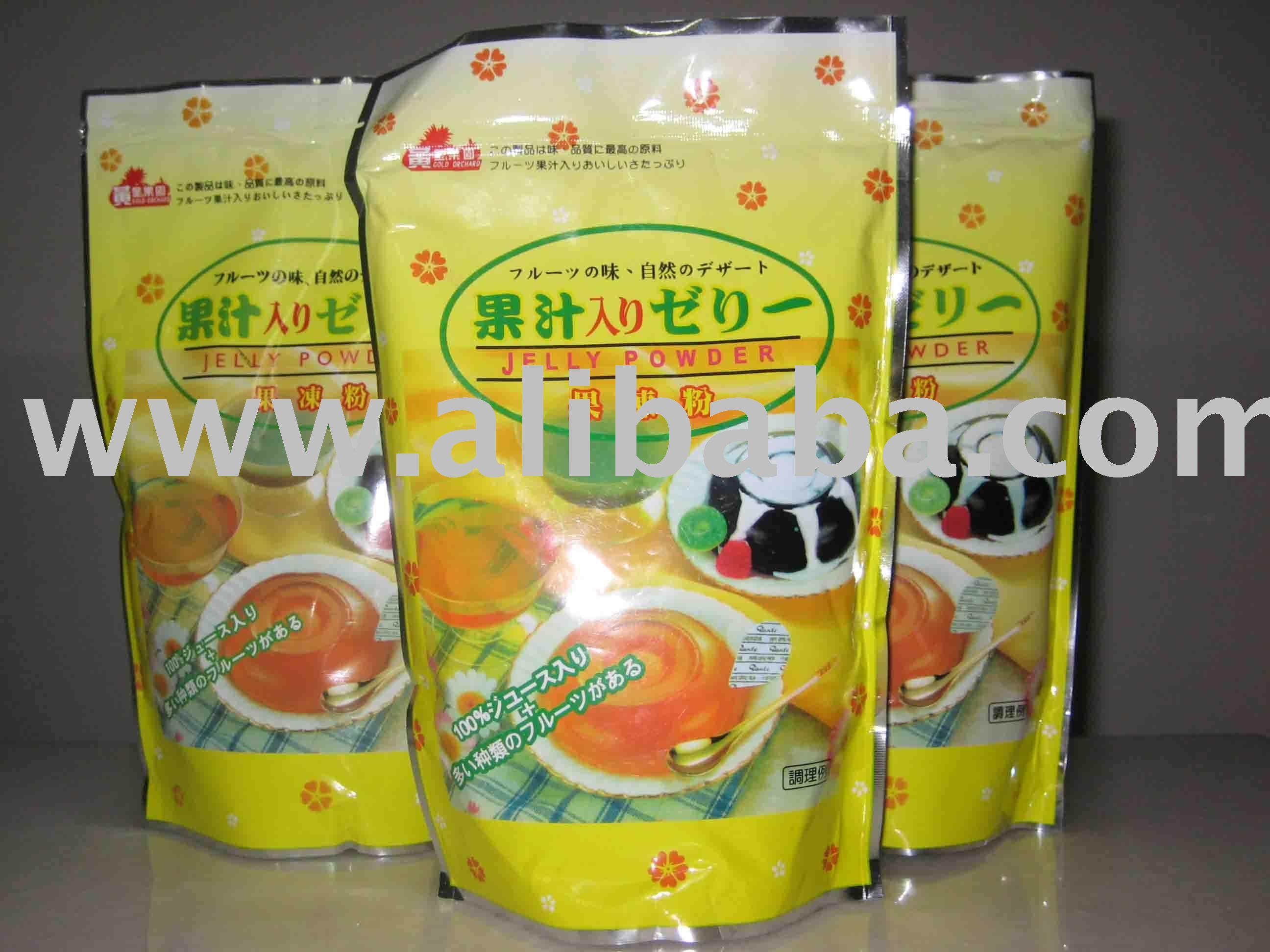 Fruit jelly powder