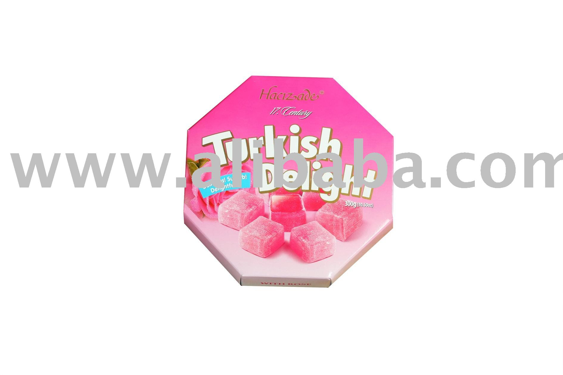 TURKISH DELIGHT WITH ROSE candy