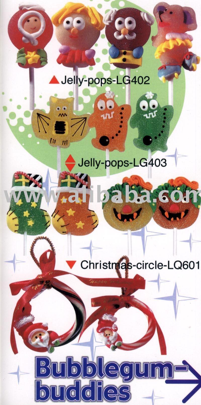 CHRISTMAS CIRCLE  candy