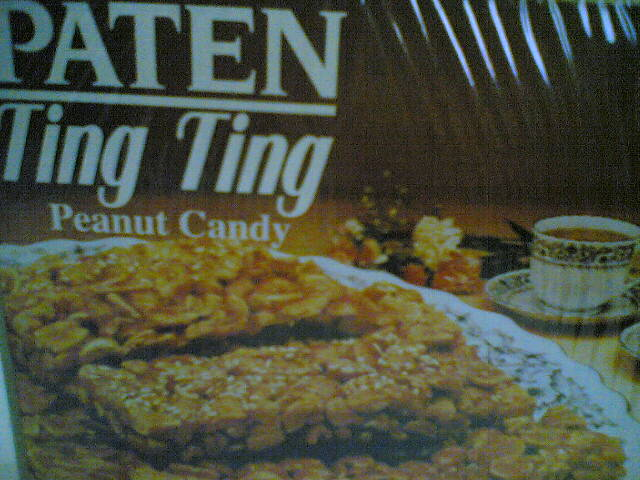 Peanut candy (Ting Ting)