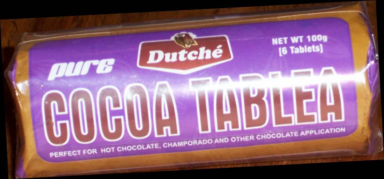 Cocoa Tablea-Pure