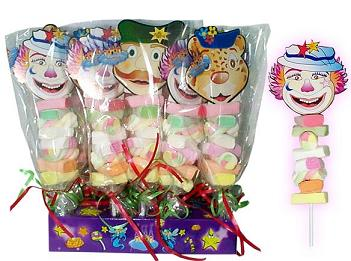 Clown Kebabs Candy