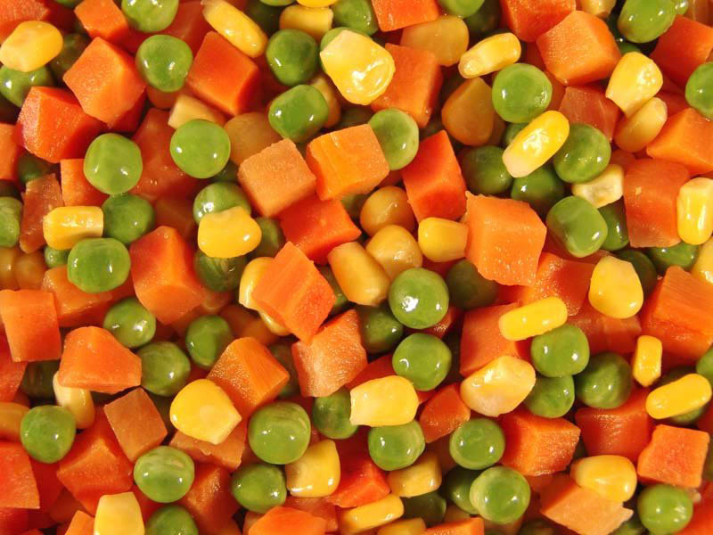Frozen Vegetable mixed(Beans Carrots Corns) products,Korea Frozen ...