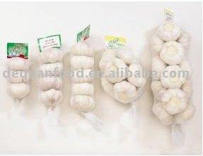 Pure White Garlic, 2011 New Crop