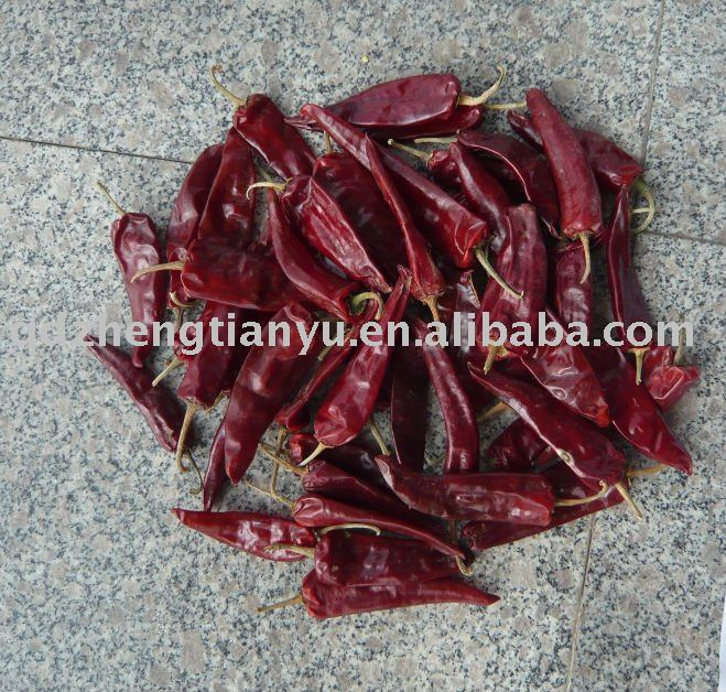 dehydrated red chili