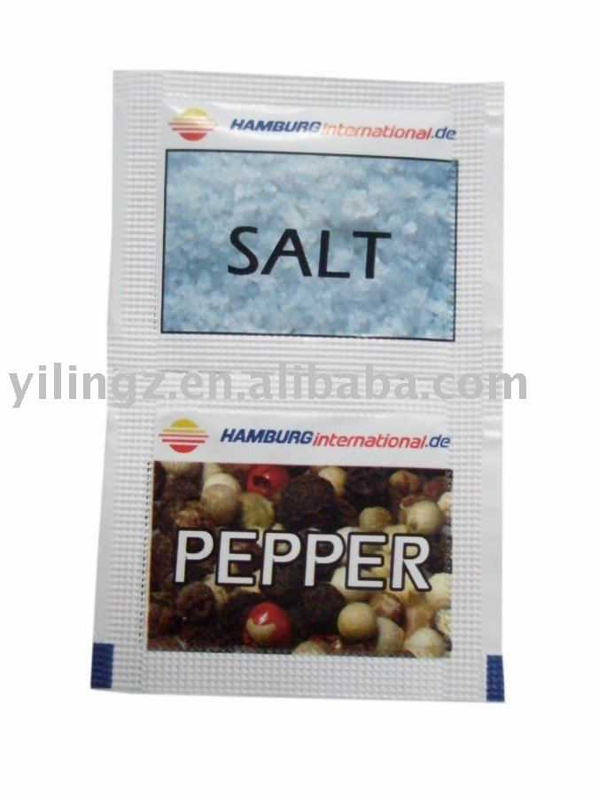 Hamburg Pepper & Salt Sachet