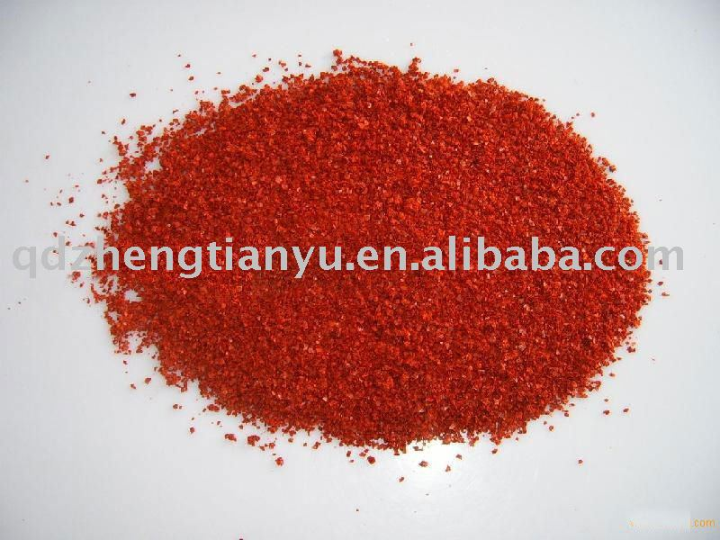 Dried red crushed chilli