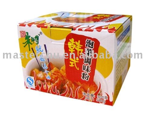 Kimchi Seasoning Powder 500g Master Chu Brand