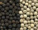 TOP QUALITY BLACK AND WHITE PEPPER