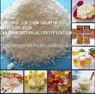 how to use gelatin powder in ice cream