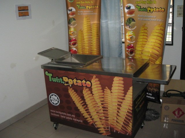 Twist Potato Kiosk