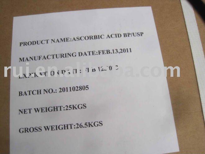 Ascorbic acid (Vitamin C) / CAS : 50-81-7