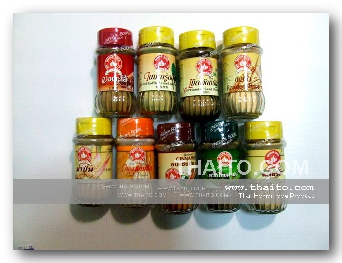 Product Name : Thai Spice and herb Set 2 with 10 Thai Spice and Herb