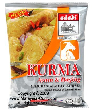 ADABI-Chicken Meat Kurma SPICES