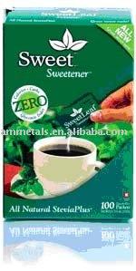 stevia sachets sweetness
