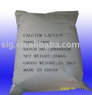 Food Additives Calcium Lactate