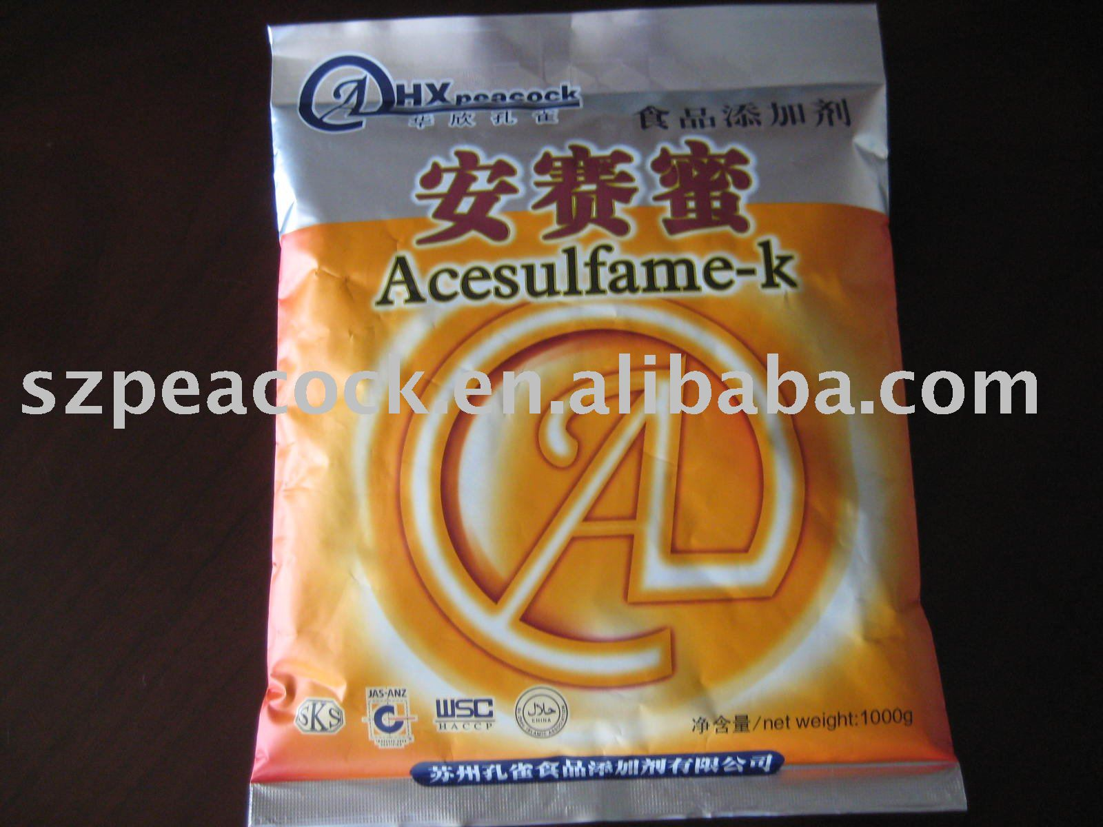 Acesulfame - K    Food   Additive