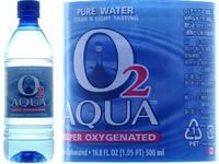 O2 Aqua Drinking Water Purified 700% Oxyginated