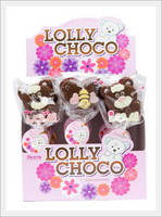 Lolly Choco 20g (Bear with LOVE and Bee)