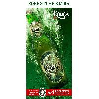 Korca beer (blonde 0,33l disposable bottle)